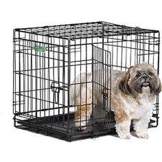 Клетка Midwest iCrate 24 Double Door Dog Crate 61x46x48h см 2 двери черная для собак