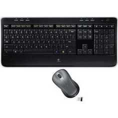 Комплект Logitech Wireless Combo MK520 Black USB (920-002600)