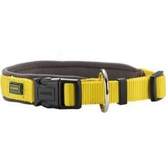 Ошейник Hunter Collar Neopren Vario Plus (50-55см) нейлон/неопрен желтый/бежевый для собак