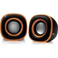 Компьютерные колонки BBK CA-301S черный/оранжевый