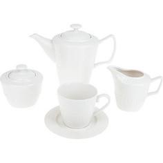 Чайный сервиз 15 предметов ENS Group Ажурный узор (2240023)