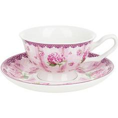 Чайный набор 4 предмета Nouvelle Розовая гортензия (M0661179)
