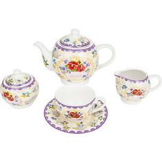 Чайный сервиз 15 предметов Nouvelle Анютины глазки (M0661207)