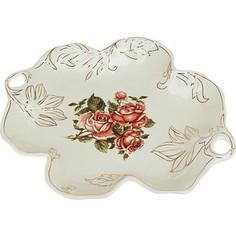 Конфетница Best Home Porcelain Рубиновые розы (M1270309)