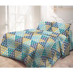 Комплект постельного белья Самойловский текстиль Семейный, бязь, с наволочками 50х70 (713585)
