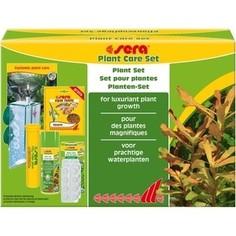 Препарат SERA PLANT CARE SET plant Set for Luxuriant Plant Growth набор препаратов для ухода за растениями в аквариуме