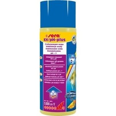 Препарат SERA KH/pH - PLUS повышение уровня KH/pH стабилизация pH уровня больше 7 для воды в аквариуме 500мл
