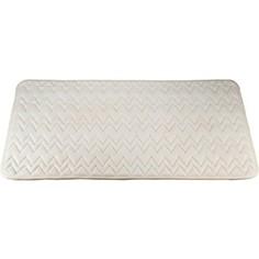Коврик для ванной Swensa 60х90 см Punto Айвори, Memory foam, полиэстер, слоновая кость (SWM-6020-IVORY)