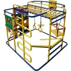 Детский спортивный комплекс Формула здоровья Мурзилка S синий- радуга