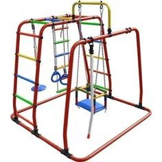 Детский спортивный комплекс Формула здоровья Игрунок Т Плюс оранжевый- радуга