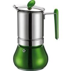 Гейзерная кофеварка на 6 чашек G.A.T. Annetta зеленый (251006 green)