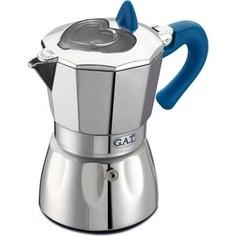 Гейзерная кофеварка на 3 чашки G.A.T. Valentina синий (104903N blue)