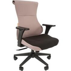 Офисное кресло Chairman Game 10 ткань черный/серый
