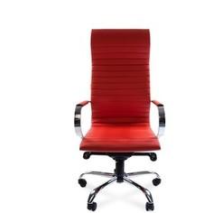 Офисное кресло Chairman 710 экопремиум красный