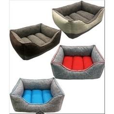 Лежанка PerseiLine ЛОФТ пухлик №3 50*40*20см цвета в ассортименте для кошек и собак (ЛФ-3)