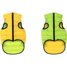 Курточка CoLLaR AiryVest двухсторонняя салатово-желтая размер L 65 для собак (1645)