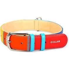 Ошейник CoLLaR Glamour Радуга ширина 20мм длина 30-39см для собак (3920)