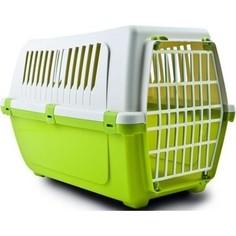 Переноска MP-Bergamo Vision Classic 50 с пластиковой дверцей для животных 48*32*33см цвета в ассортименте (87478)
