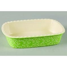Форма для запекания 35.5х25.8х7.5см Appetite прямоугольная зеленый (YR2026A-13)