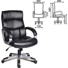 Кресло офисное Brabix Impulse EX-505 экокожа черное 530876