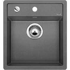 Мойка кухонная Blanco Dalago 45 алюметаллик с клапаном-автоматом (517157)