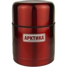 Термос для еды 0.5 л Арктика красный с широким горлом 302-500