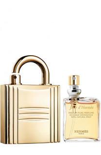 Духи Jour d'Hermès с футляром в виде золотого замка Hermès