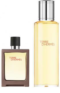 Набор: Туалетная вода Terre d'Hermès + refill Hermès