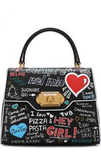 Сумка Welcome с принтом Dolce & Gabbana