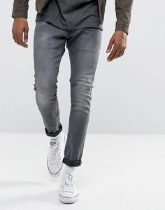 Суперэластичные серые джинсы кроя суперслим G-Star BeRAW 3301-A - Синий