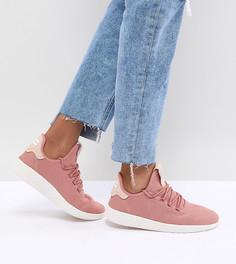 Женские розовые кроссовки adidas Originals Pharrell Williams Tennis Hu - Розовый
