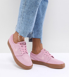 Розовые кроссовки Nike Sb Zoom Stefan Janoski - Розовый