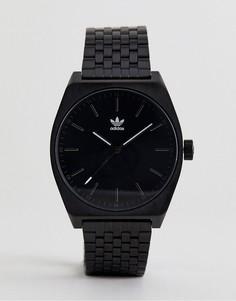 Черные наручные часы Adidas Z02 Process - Черный