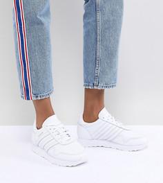 Женские белые кожаные кроссовки adidas Originals - Белый