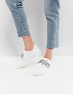 Кроссовки с декоративной отделкой ASOS DARLA - Белый