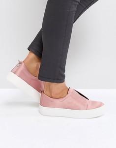 Атласные кроссовки Steve Madden Goals - Розовый