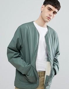 Куртка на подкладке из искуcственного меха Weekday Impasto - Зеленый