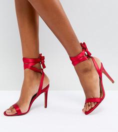 Босоножки на каблуке ASOS HATTY Barely There - Розовый