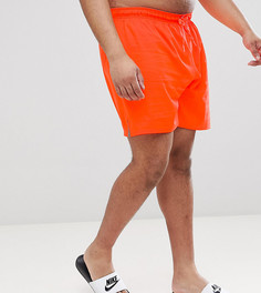Красные шорты для плавания длиной 7 дюймов Nike Plus Vital NESS8432-618 - Оранжевый