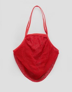 Красная сумка ASOS BEACH - Красный