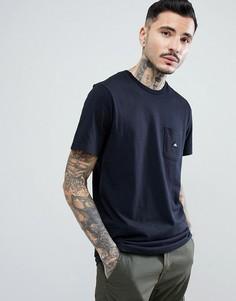 Черная футболка с карманом и логотипом Penfield Southborough - Черный