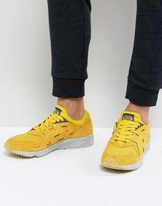 Желтые кроссовки Asics Gel-Ds OG H841L-0404 - Желтый