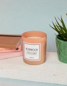 Свеча с ароматом розового дерева Pimkie - Розовый