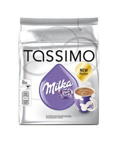 Капсулы BOSCH TASSIMO MILKA какао, для кофемашин капсульного типа, 8 шт [4251501]