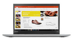 "Ноутбук LENOVO ThinkPad T470s, 14"", Intel Core i5 7200U 2.5ГГц, 8Гб, 256Гб SSD, Intel HD Graphics 620, Windows 10 Professional, 20HF0017RT, серебристый"
