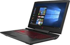 "Ноутбук HP Omen 17-an011ur, 17.3"", Intel Core i7 7700HQ 2.8ГГц, 16Гб, 1000Гб, 128Гб SSD, nVidia GeForce GTX 1070 - 8192 Мб, DVD-RW, Windows 10, 1ZB19EA, черный"