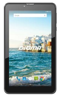"Планшет Digma Plane 7548S 4G SC9832 4C/1Gb/16Gb 7"" IPS 1024x600/3G/4G/And7.0/черный/BT/GPS/2Mpix/0.3"