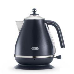 Чайник электрический DELONGHI KBOE2001.BL, 2000Вт, черный Delonghi