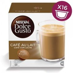 Капсулы KRUPS NESCAFE Dolce Gusto CafeAuLait, для кофемашин капсульного типа, 16 шт [12148061]