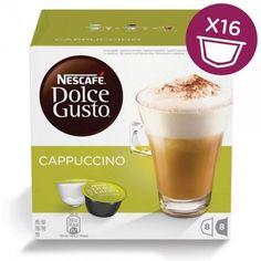 Капсулы KRUPS NESCAFE Dolce Gusto Cappuccino, для кофемашин капсульного типа, 8 шт [5219849]